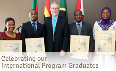 2014-2015 International Fellows Graduation