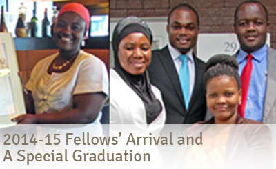 2014-15 Fellows' Arrival and a Special Graduation