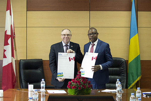 MOU signing for our International Governance, Accountability and Performance Program