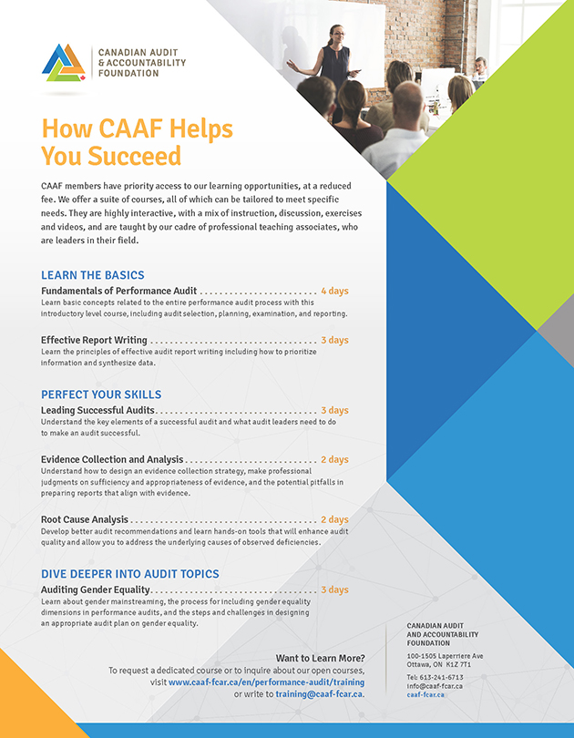 How CAAF Helps Members Succeed