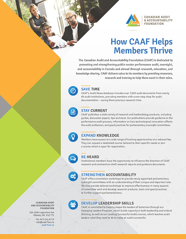 How CAAF Helps Members Thrive