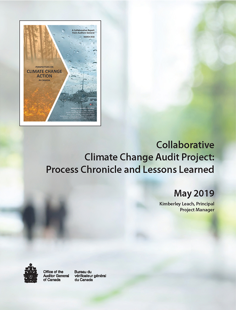 Collaborative Climate Change Audit Project: Process Chronicle and Lessons Learned