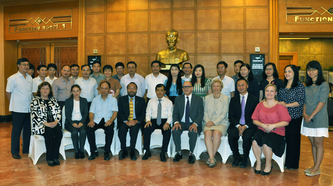 Improving Public Spending Through Effective Oversight – CCAF Workshop in Vietnam