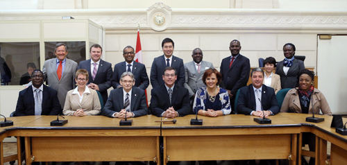 International Auditors Visit Canadian Federal Public Accounts Committee