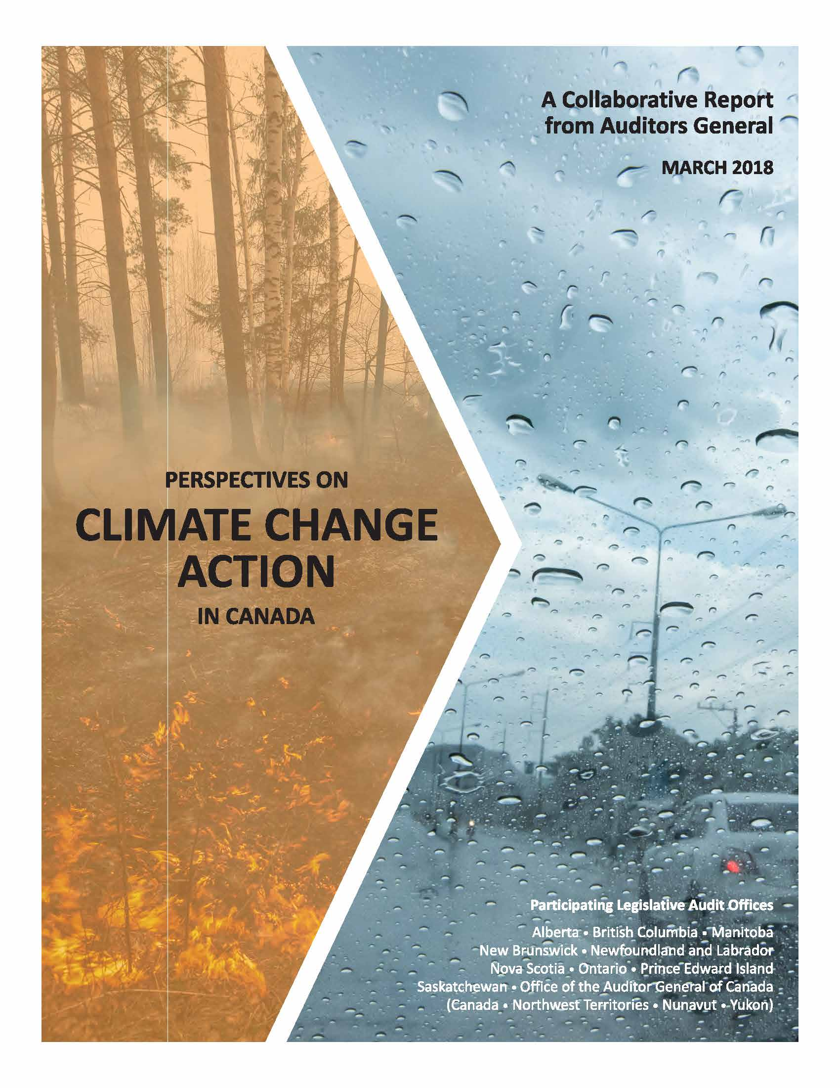 Perspectives on Climate Change Action in Canada: A Collaborative Report from Auditors General