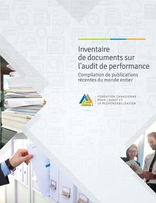 Inventaire de documents sur l'audit de performance
