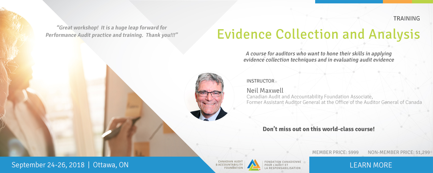 Evidence Collection and Analysis Training – September 24-26, 2018